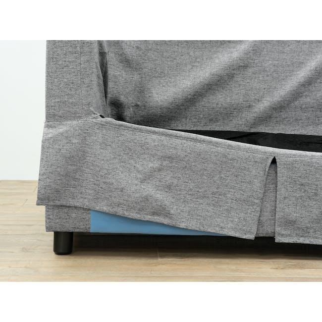 Berlin 2 Seater Sofa - Siberian Grey - 2