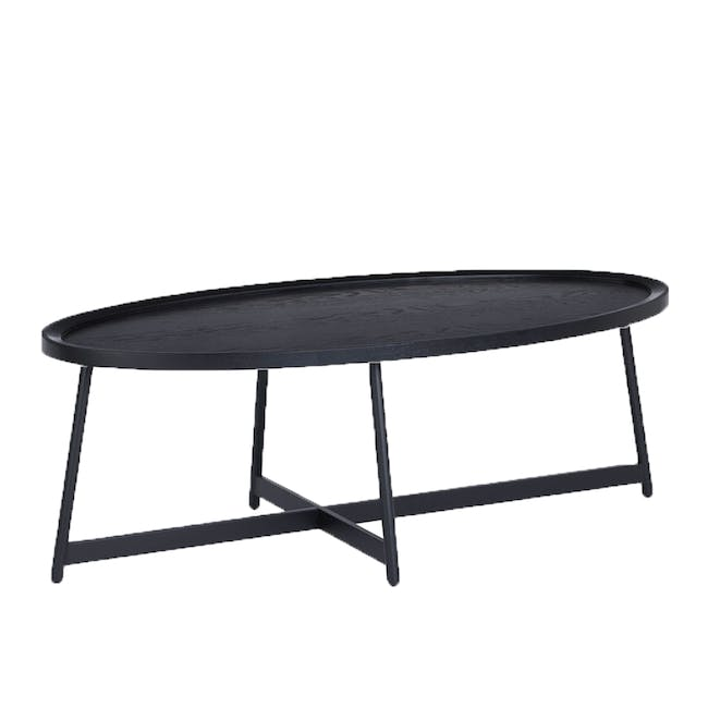 (As-is) Wagner Oval Coffee Table - 1 - 0