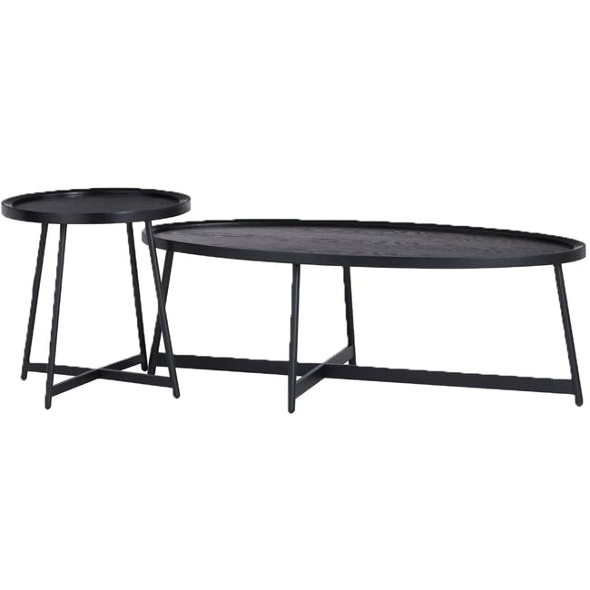 (As-is) Wagner Oval Coffee Table - 1 - 5
