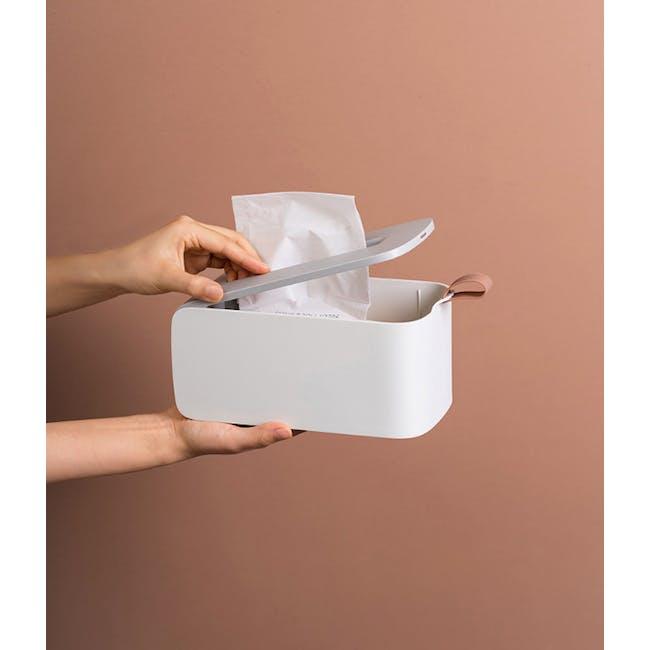 Clyde Tissue Box - Terracotta - 6