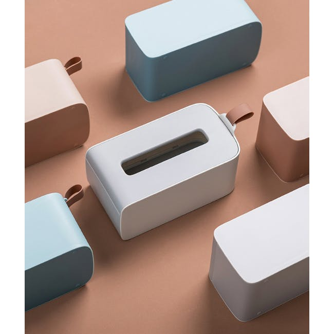Clyde Tissue Box - Grey - 3