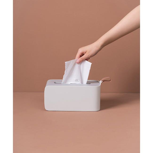 Clyde Tissue Box - Grey - 2