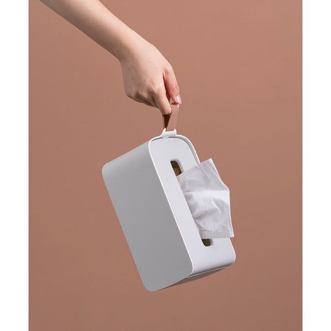 Clyde Tissue Box - Grey - 4