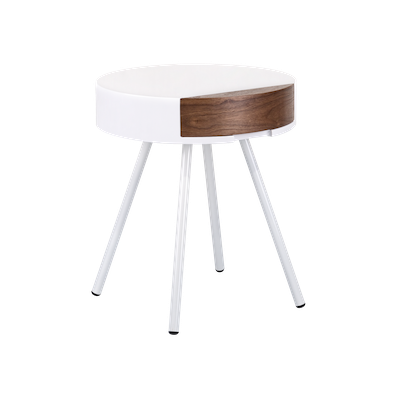 (As-is) Ericia Side Table - White - 1 - Image 1