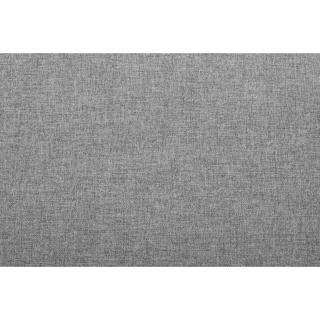 Wyatt L Shape Sofa - Slate (Fabric) - 9