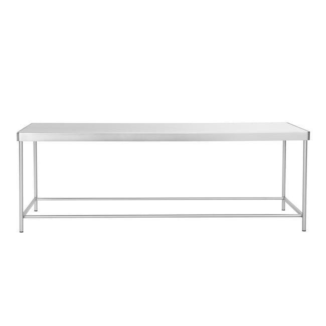 Tifa Rectangle Mirror Coffee Table - 0