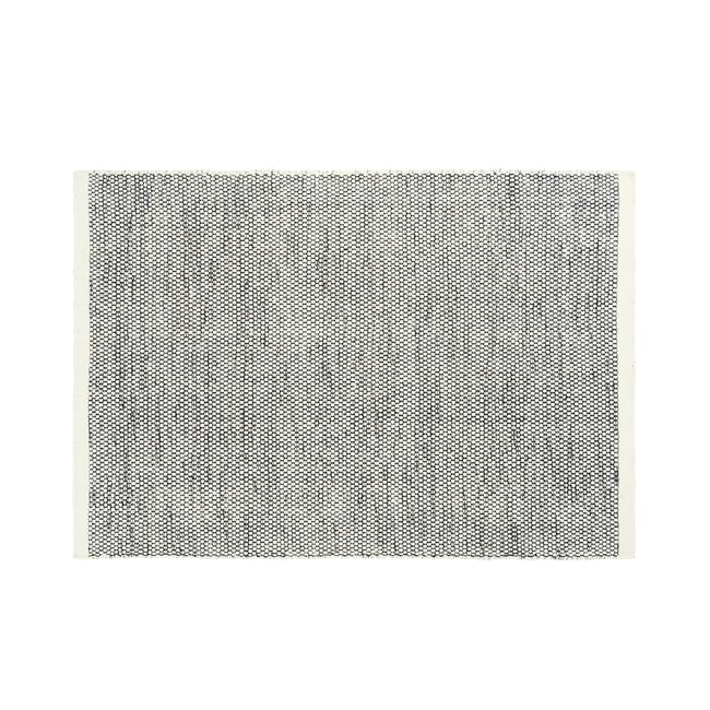 Fugito Flatwoven Rug 3m by 2m - Grey - 0