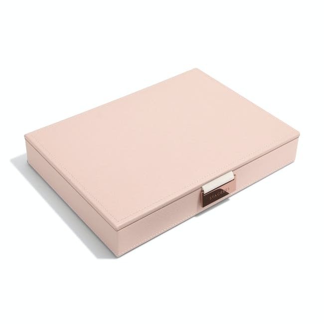 Stackers Classic Jewellery Box with Lid - Blush - 4