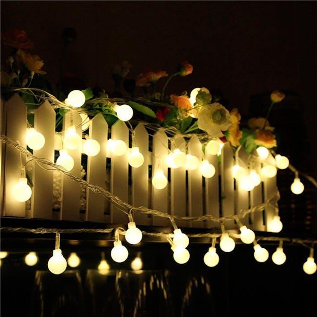 Mini Globe String Lights 6m - Warm - 3