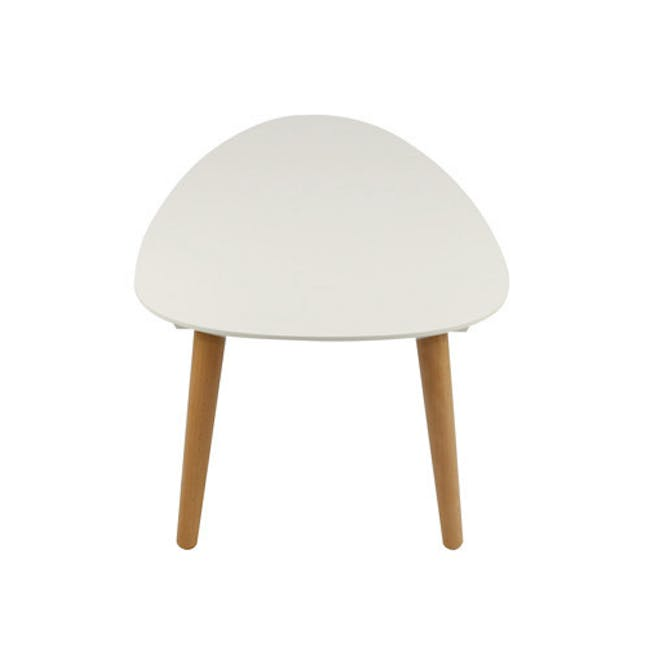 Avery Coffee Table in White and Innis Coffee Table in White - 6