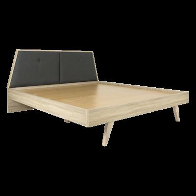 Parker King Wooden Bed with 2 Parker Bedside Tables - Image 2