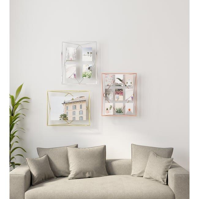 Prisma Gallery Photo Display - Brass - 1
