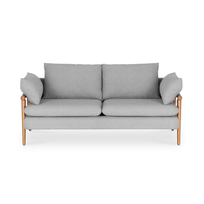 Astrid 2 Seater Sofa - Slate - 0