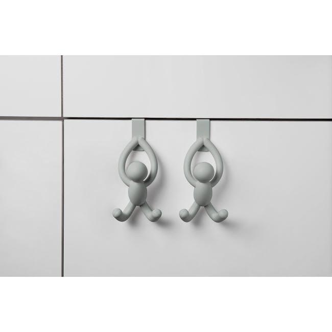 Buddy Cabinet Hooks - Grey (Set of 2) - 7