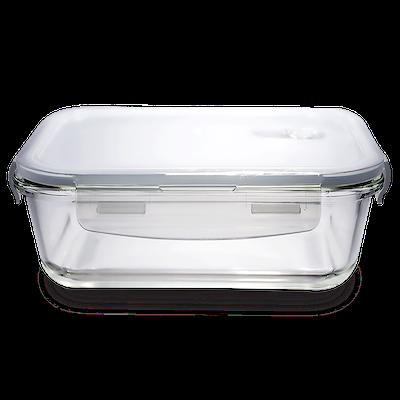 PICNIC Rectangular Glass Food Storage with Lid - 1520 ml - Image 1