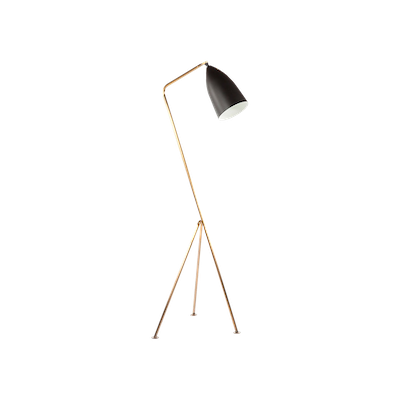 Grasshoppa Floor Lamp - Black, Brass - Image 2
