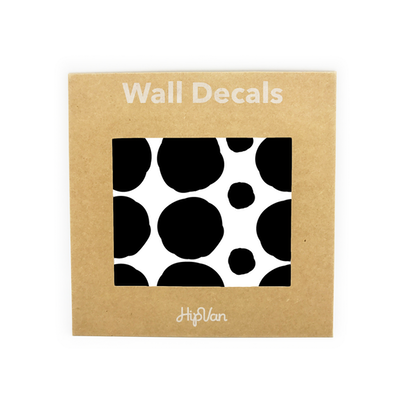 Polka Dot Wall Decal Pack (Pack of 54) - Black - Image 1