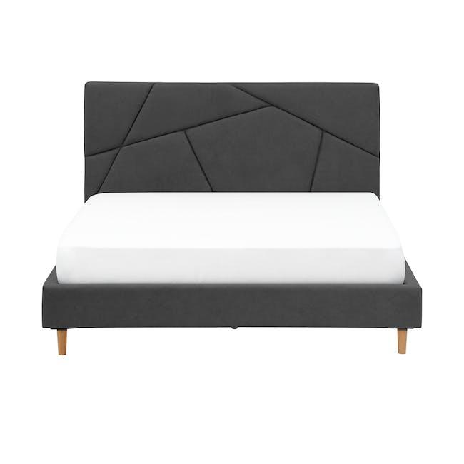 Kieran Queen Bed - Onyx Grey - 0