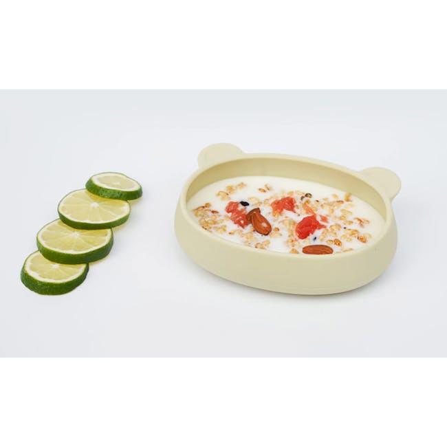 MODU'I Bear Snack Bowl 320ml - Green Bean - 1