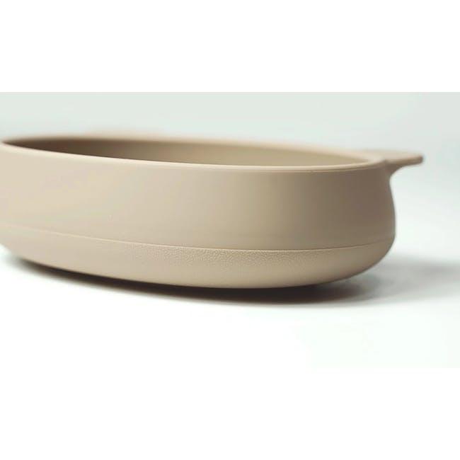 MODU'I Bear Snack Bowl 320ml - Green Bean - 4