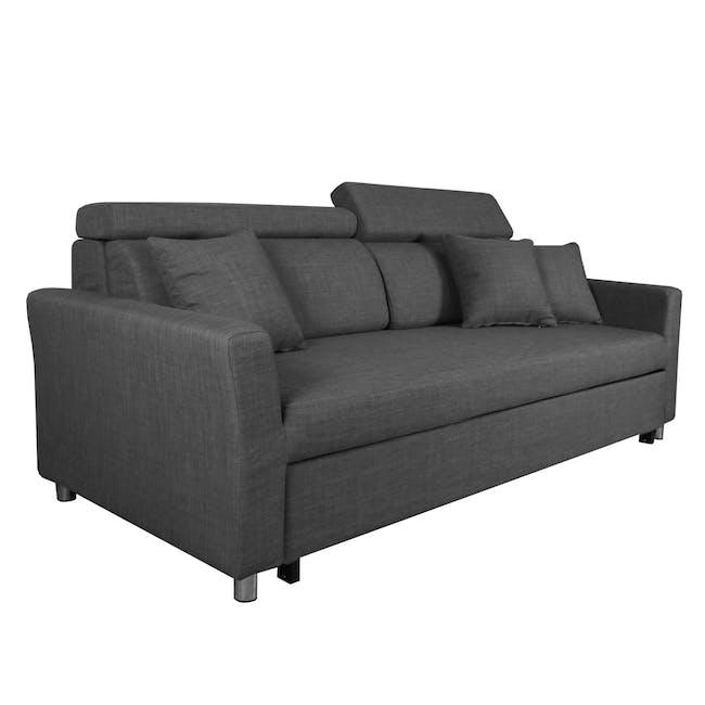 Bowen 3 Seater Sofa Bed - Grey - 2