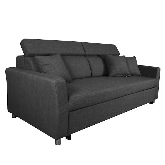 Bowen 3 Seater Sofa Bed - Grey - 3