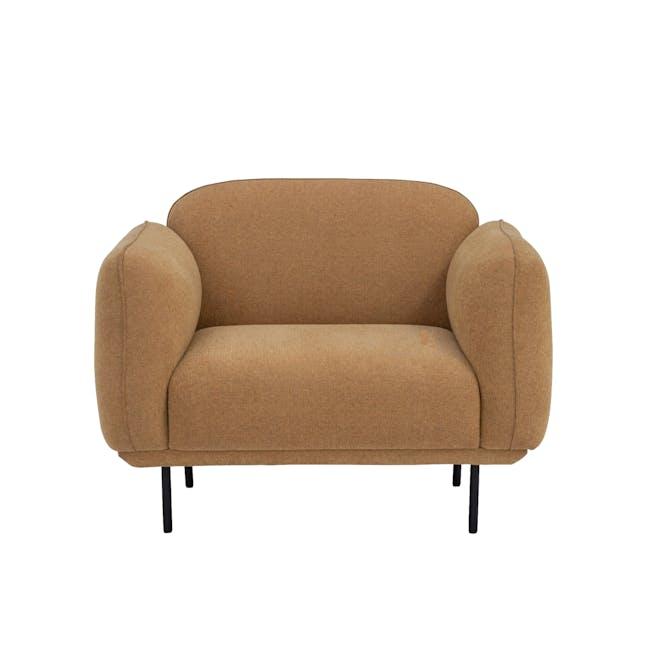 Miura Armchair - Turmeric (Easy Clean Fabric) - 0