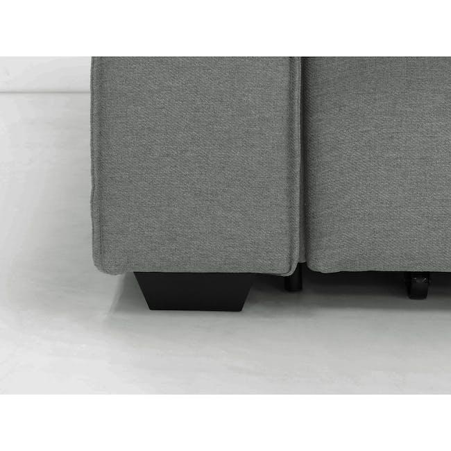 Arturo 2 Seater Sofa Bed - Pigeon Grey - 17