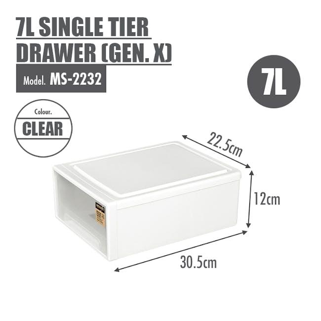 7L Single Tier Drawer (Gen.X) - 3