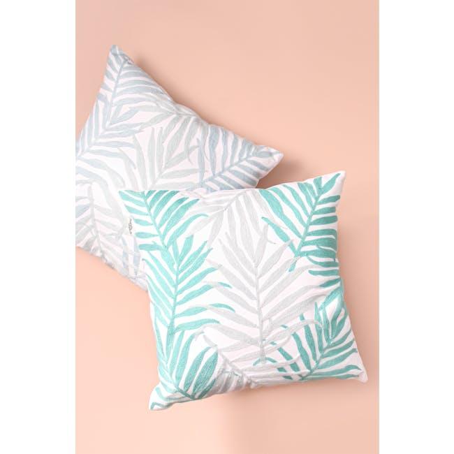 Lazarus Island Throw Cushion - Light Blue - 1