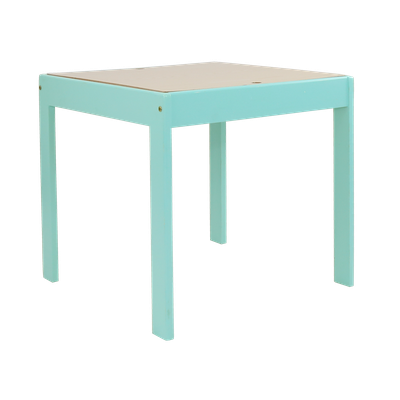 Wynona Activity Table - Teal Blue - Image 1