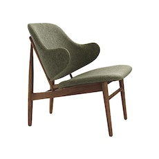 Veronic Lounge Chair - Forrest, Walnut