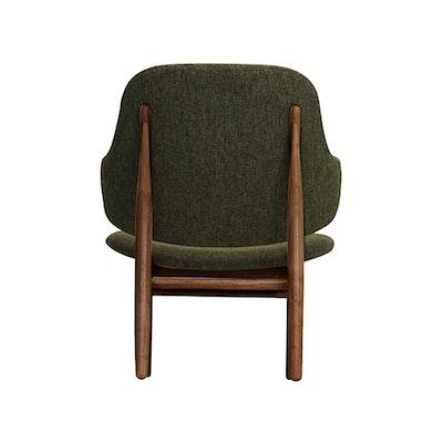 Veronic Lounge Chair - Forrest, Walnut