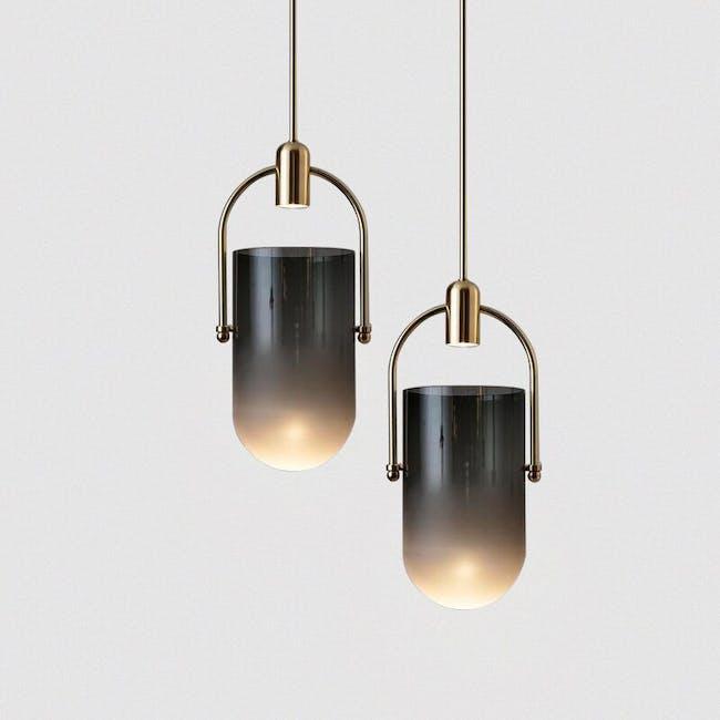 Martell Glass Pendant Lamp - 3