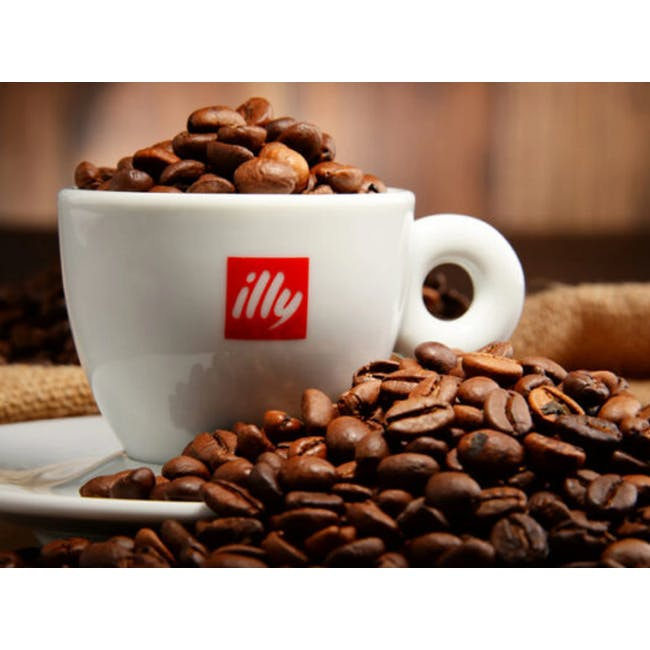 Illy Whole Bean Decaffeinated Classico Coffee 250g - Medium Roast - 2
