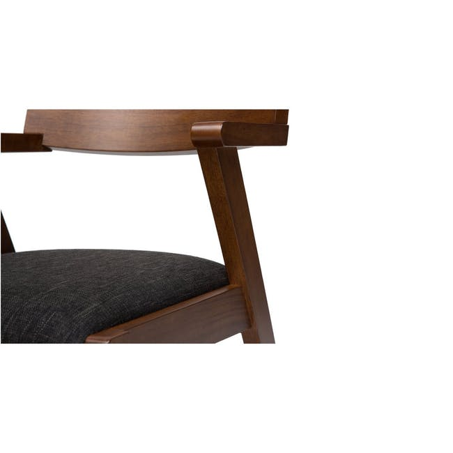 Imogen Dining Chair - Cocoa, Dolphin Grey - 4