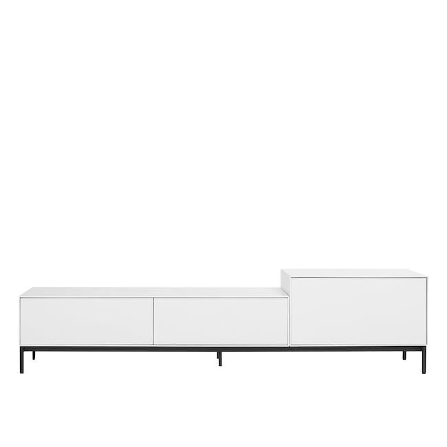 Lamont TV Cabinet 1.8m - White - 0