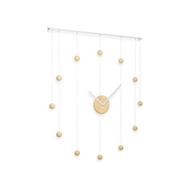 Hangtime Suspension Decorative Wall Clock - Natural - 3