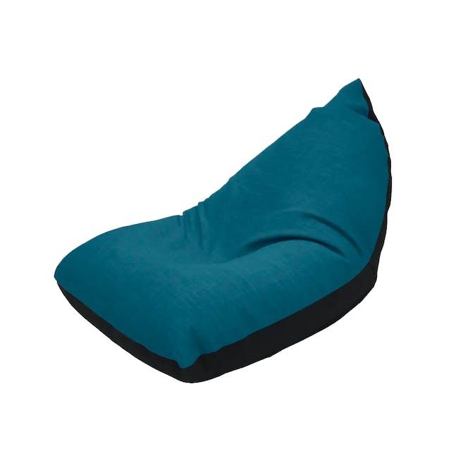 Doodle Triangle Bean Bag - Blue - 0