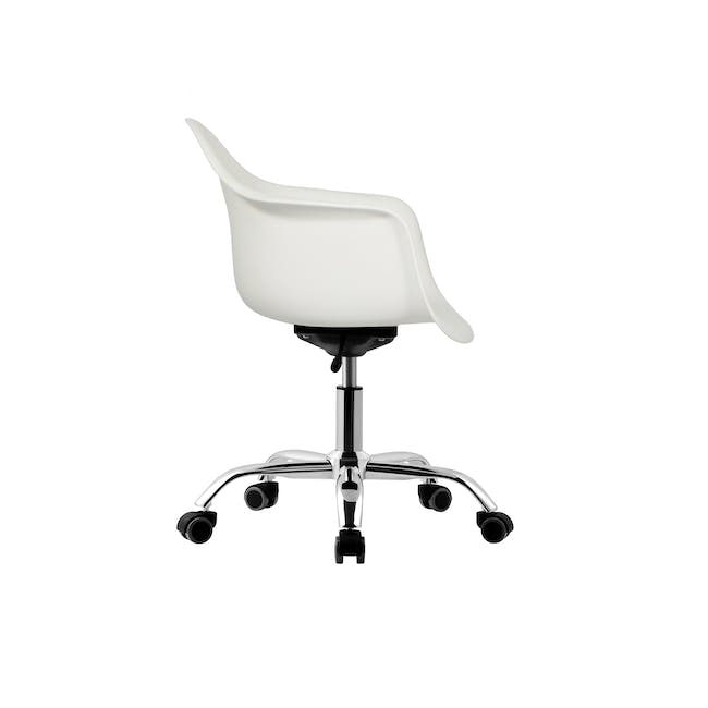DAW Mid Back Office Chair - White - 2
