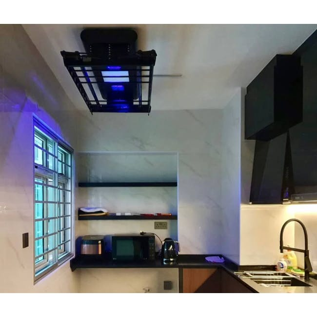 Goodwife Advanced Modern Laundry System - Black - 4