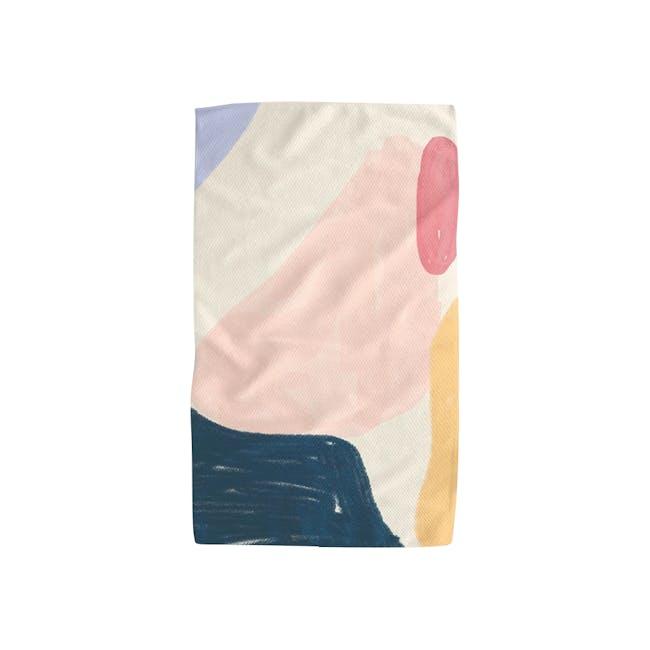 Geometry Tea Towel - Passionfruit - 0