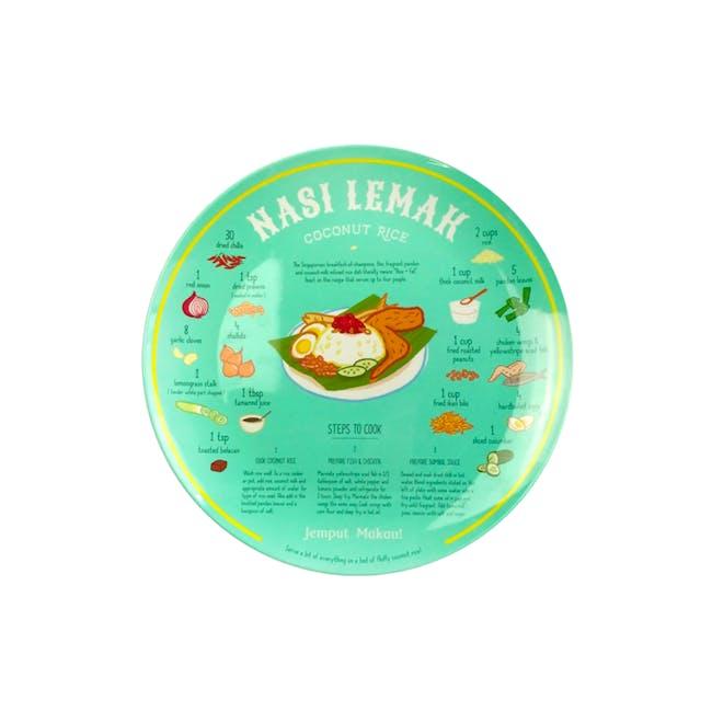 Red Republic Recipe Plates - Nasi Lemak - 0