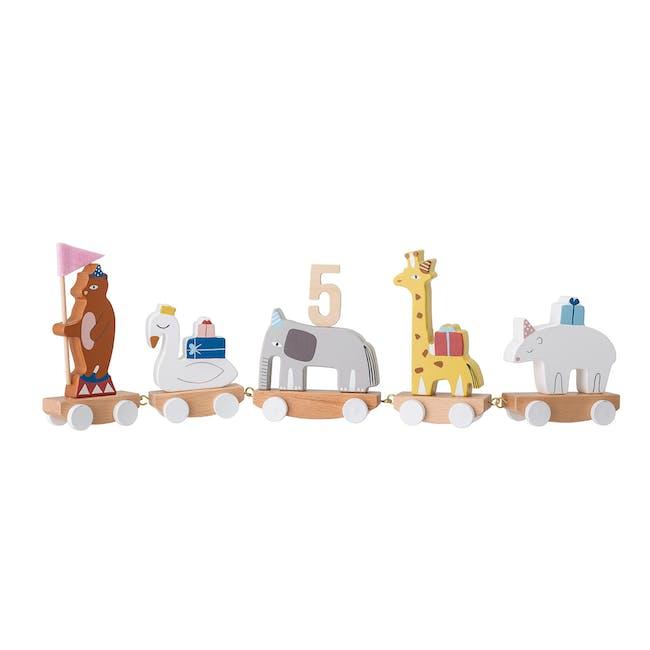 Birthday Decoration - Number Holder Train - 0