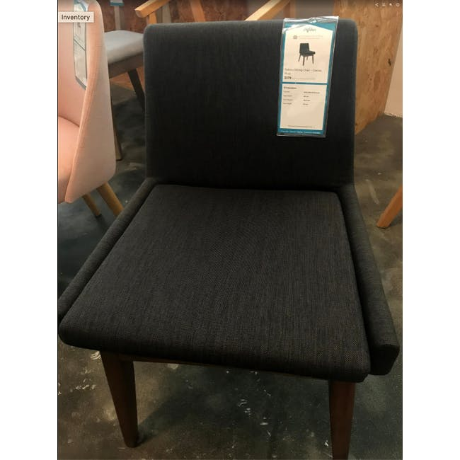 (As-is) Fabian Dining Chair - Cocoa, Mud - 1