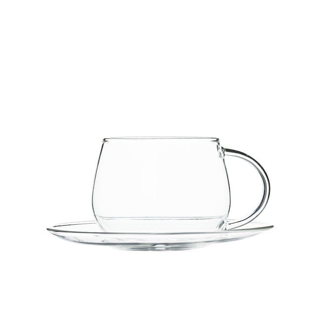 T2 Classier Glassier Cup & Saucer - 0