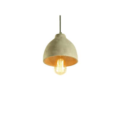 Rocco Concrete Dome Lamp