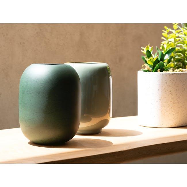 Aune Vase - Army Green - 1