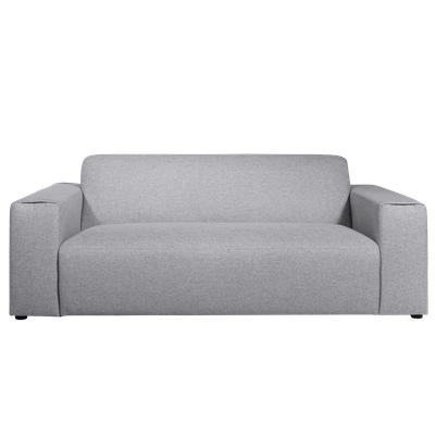Adam 3 Seater Sofa - Grey - Image 1