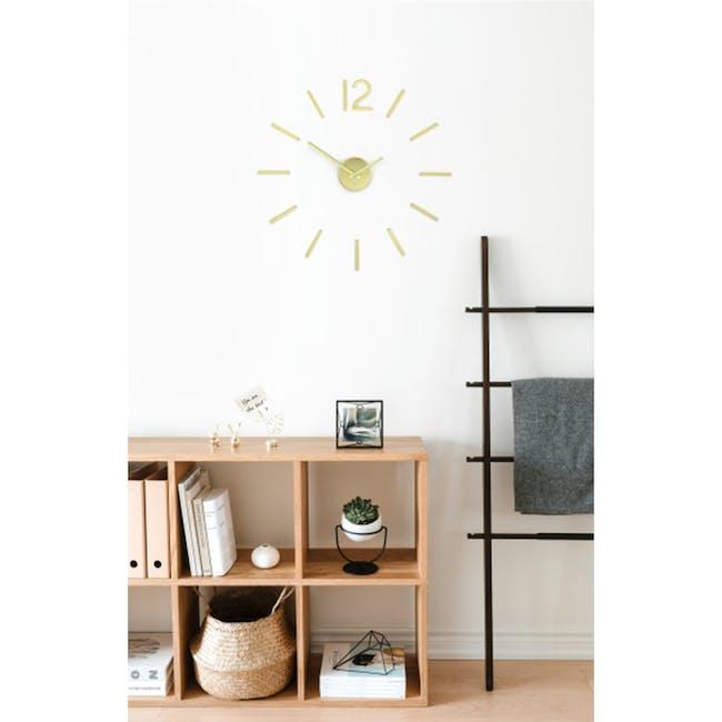 Blink Clock - Brass - 2